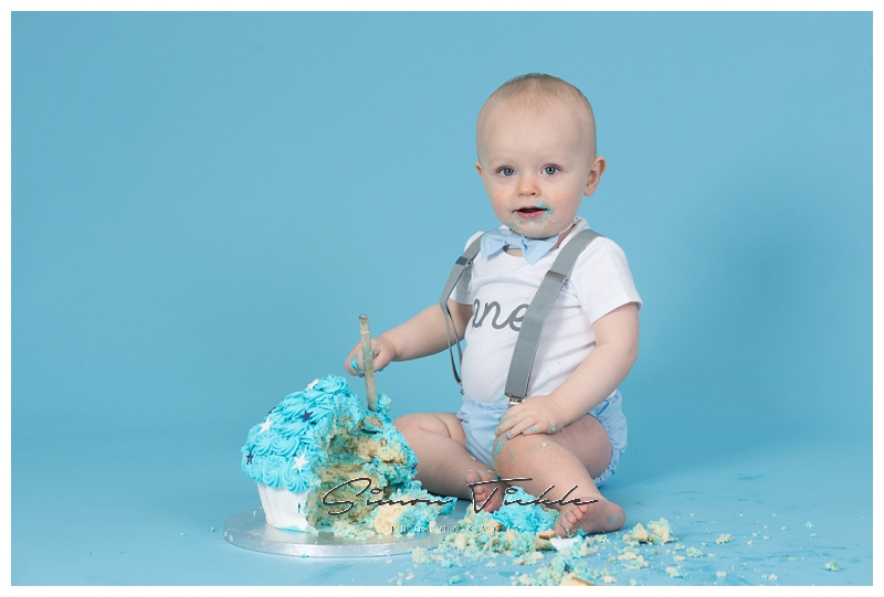 first birthday cake smash photoshoot mansfield