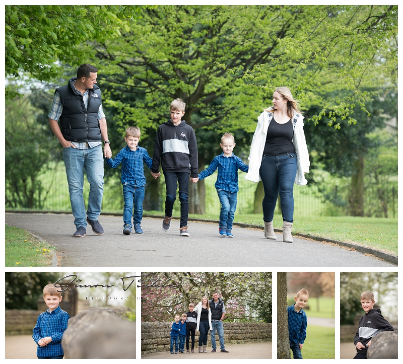 outdoor family portraits in nottingham