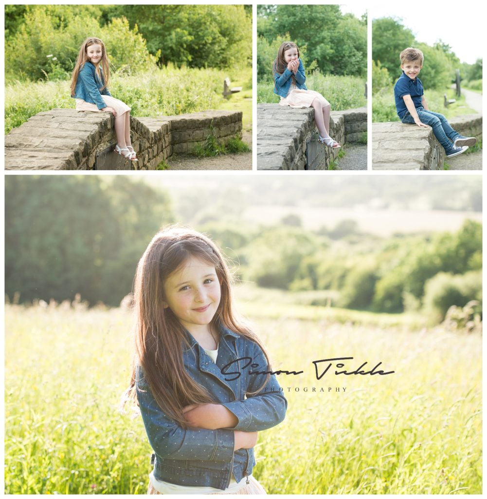 sunset child photo shoot mansfield