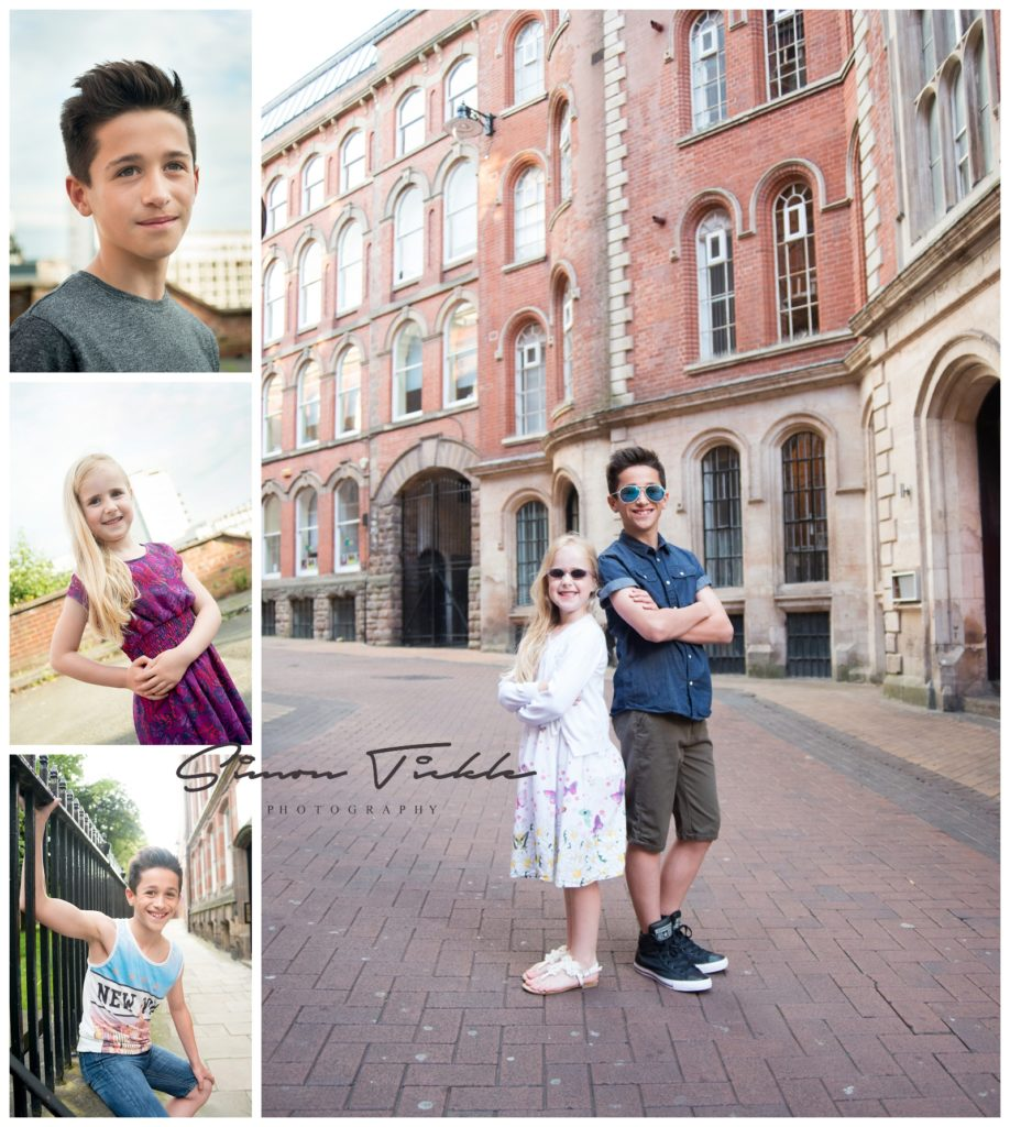 urban child photo shoot nottingham