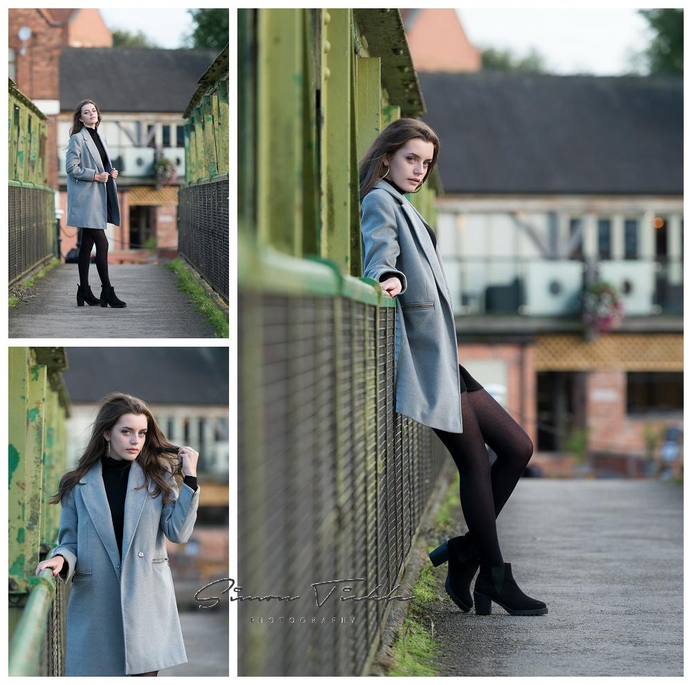 model portfolio photo shoot mansfield nottingham