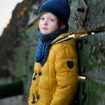 child headshot photograph boy model