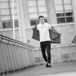 male walking catwalk style for portfolio update