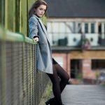 female leans on bridge model updates mansfield nottingham