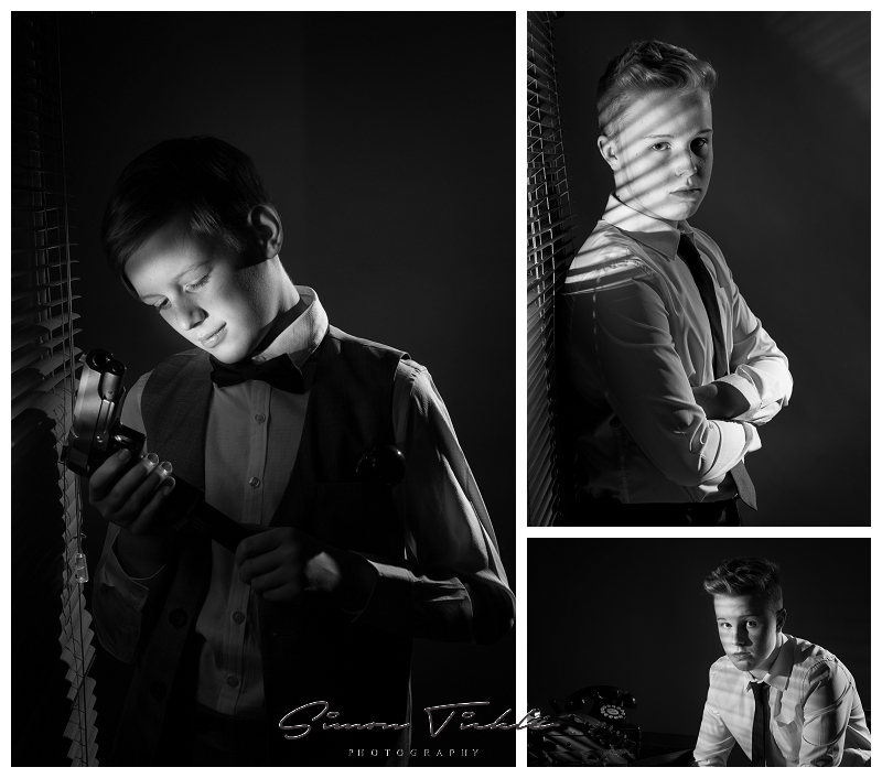 film noir concept photoshoot mansfield nottingham