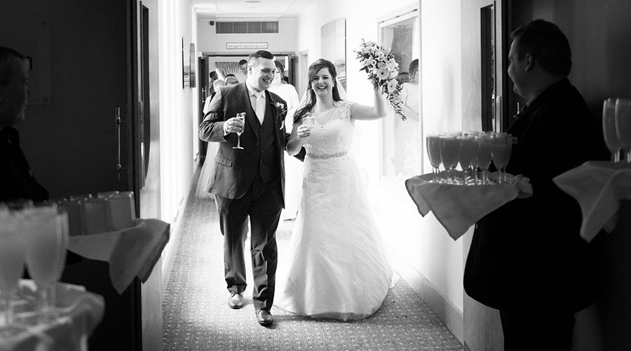 couple-celebrate-after-getting-married-nottingham-wedding-photographer