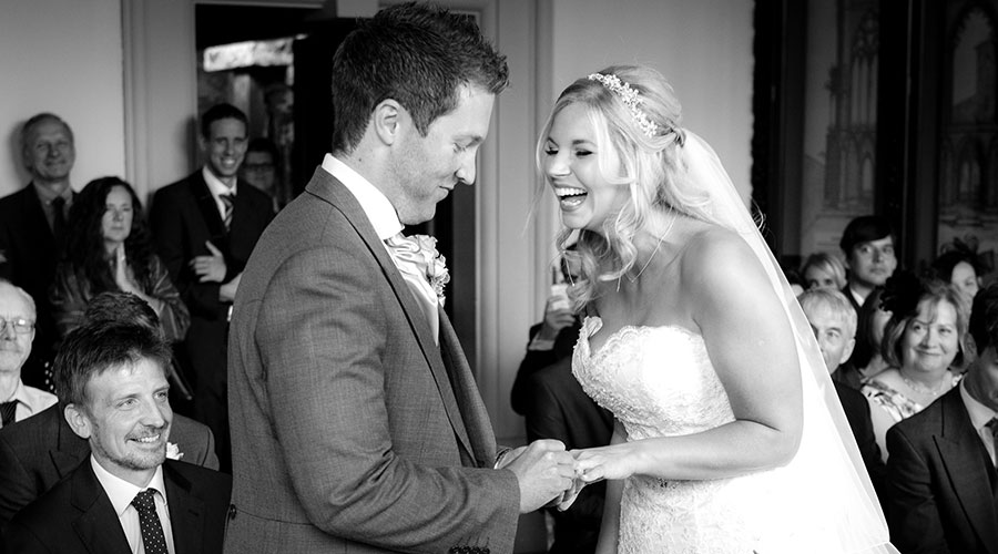 laughter-during-vows-nottingham-wedding-photographer