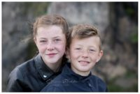 sibling woodland photoshoot in mansfield