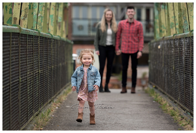 urban family photoshoot in mansfield nottingham